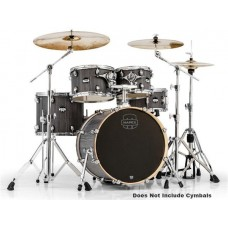 Mapex MA504SFCGW 5 Piece Mars Fusion Shell Pack Smokewood Chrome Hardware