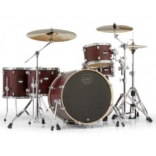 Mapex MA528SFRW 5 Piece Mars Crossover Shell Pack Bloodwood Chrome Hardware