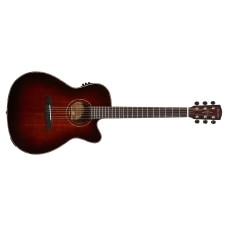 Alvarez MFA66CESHB Acoustic Electric Guitar Shadowburst Finish with Case