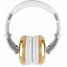CAD Audio MH510GD Closed-back Studio Headphones - Gold/White - Two Cables T
