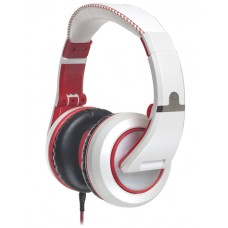 CAD Audio MH510W Closed-back Studio Headphones - White/Red - Two Cables Two