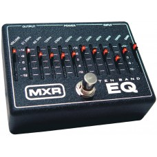 MXR 10 Band Guitar Graphic EQ Equalizer Pedal
