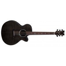 Dean Performer Ultra Acoustic Flamed Maple Trans Black
