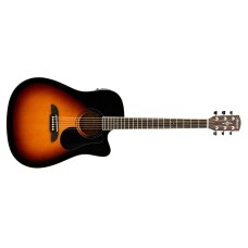Alvarez  RD26CESB  Acoustic  Electric  Guitar  Sunburst  Finish  with  Delu