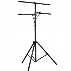 Rental - Tripod Lighting Stand with Top T-Bar and 2 Side Arms