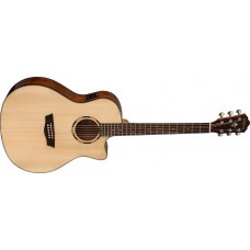 Open Box - Washburn  WLO10SCE  Woodline  Orchestra  Solid  Spruce  Top  Cut