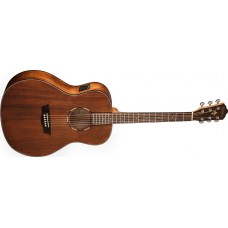Washburn WLO12SE Woodline Orchestra Solid Mahogany top Acoustic Electric Gu