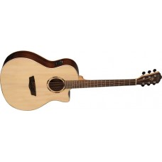 Washburn  WLO20SCE  Woodline  Orchestra  Solid  Spruce  Top  Cutaway  Acous