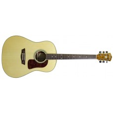 Washburn  WSJ50SKELITE  Solid  Spruce  Top  Southern  Jumbo  Acoustic  Guit