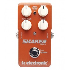 TC  Electronic  Shaker  Vibrato  Guitar  Effects  Pedal