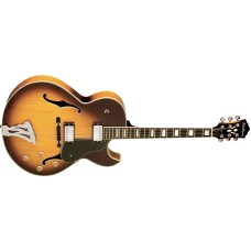 Washburn J3TSK Hollowbody Electric Guitar Tobacco Sunburst