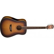 Washburn  WD7SATB  Dreadnought  Acoustic  Guitar
