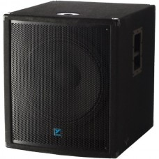 Rental - Yorkville YX18SP 500 Watt Powered Subwoofer Cabinet.