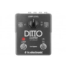 TC  Electronic  Ditto  X2  Compact  Looper  Guitar  Effects  Pedal