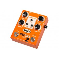 T Rex Reptile-2 Digital Delay Pedal With Modulation Effect