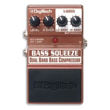 Rental- Digitech X-Series XBS Bass Squeeze Compressor Pedal