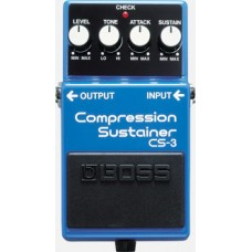 Rental- Boss CS-3 Compression Sustainer Pedal