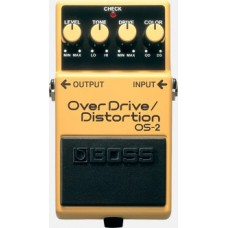 Rental- Boss OS-2 Overdrive Distorntion Pedal