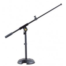 Hercules Low Profile Microphone Boom Stand With 2 Section Boom