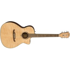 Fender FA-345CE Auditorium in Natural  with Laurel Fretboard