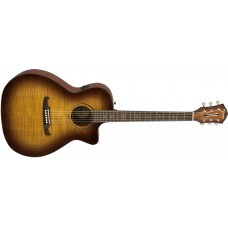 Fender FA-345CE Auditorium in 3 Tone Tea Burst with Rosewood Fretboard