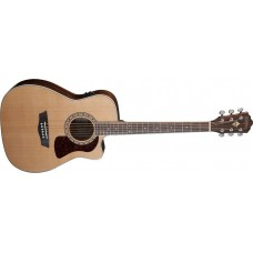 Washburn HF11SCE-O Heritage Series Folk Cutaway electric Solid Cedar top -