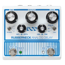 DOD RUBBERNECK BBD Analog Delay Pedal with Tap Tempo