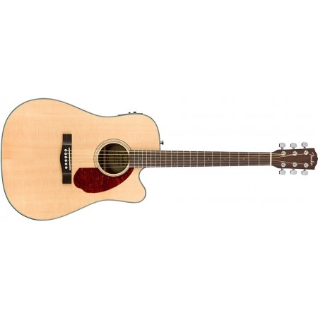 Fender CD140SCE Acoustic Electric Guitar Natural Finish