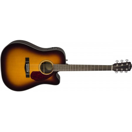 Fender CD140SCE Acoustic Electric Guitar Sunburst Finish with case