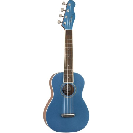 Fender Zuma Classic Concert Ukulele Walnut Fingerboard Lake Placid Blue
