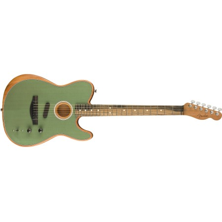 Fender  American Acoustasonic Telecaster Surf Green with Bag