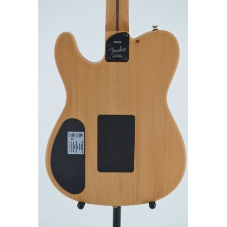 Fender  American Acoustasonic Telecaster Black with Bag Serial #US200482 4.45