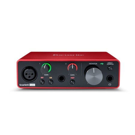 Focusrite Home USA - Scarlett Solo 3rd Gen USB 2x2 Digital interface