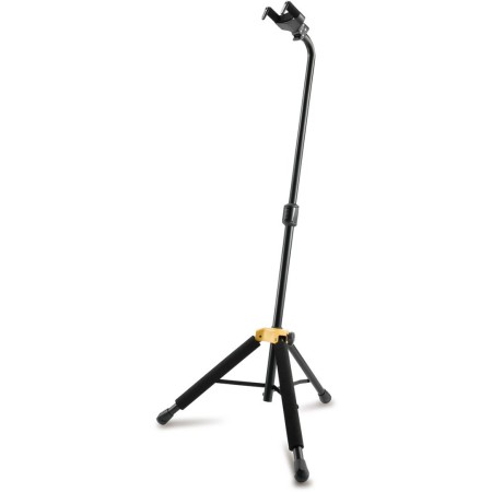 Hercules Hanging Auto Locking Deluxe Guitar Stand Black Dual Back Rest