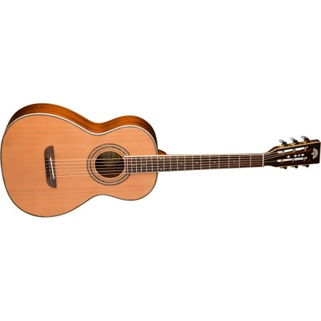 Washburn  WP11SNS  Parlor  Solid  Cedar  Top  with  Mahogany  Back-sides-  Natural  Satin
