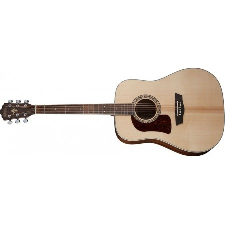 Washburn HD10SLH-O Left Handed Heritage Series Acoustic Guitar with Solid Sitka Spruce top
