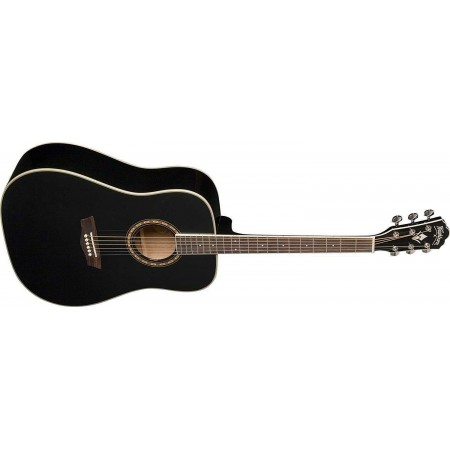 Washburn WD910S-B Dreadnought Acoustic Guitar Black