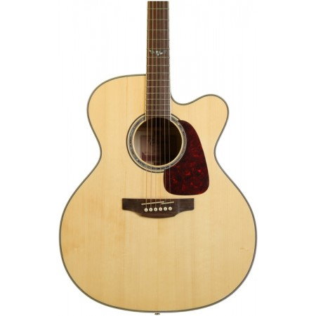 Takamine GJ72CE-NAT Natural Jumbo Cutaway Acoustic electric Guitar Solid Spruce Top Flame Maple back and Sides