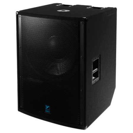 Rental- Yorkville LS2100P 2400 Watt (3600 peak) 21 Inch Powered Subwoofer Speaker Cabinet