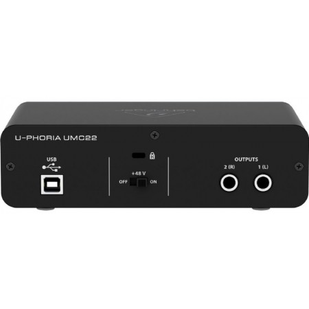 Behringer U-Phoria UMC22 2x2 Audio Interface