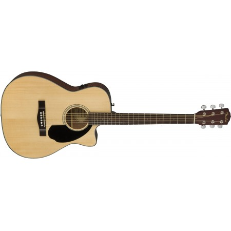 Fender CC60-SCE Acoustic Electric Guitar Natural Finish