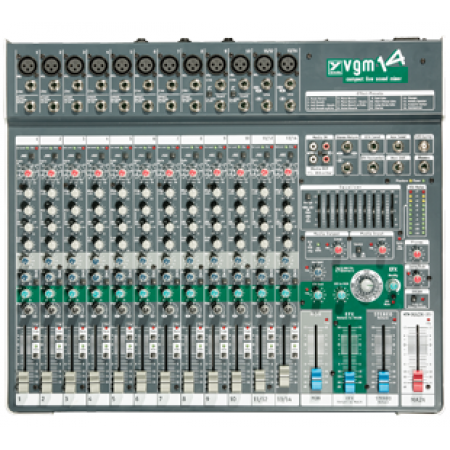 Rental- Yorkville VGM14 Mixing Console with Digital Effects and Graphic EQ.