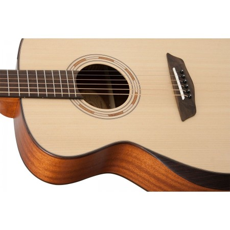 Open Box - Washburn WCG10SNS-O Grand Auditorium Cutaway Electric Sitka Spruce