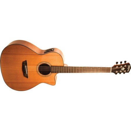 Open Box - Washburn WLG110SWCEK-D Woodline Solid Cedar Top Mahogany