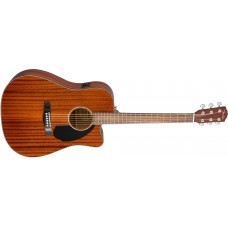 Fender CD60SCE Acoustic Electric Guitar All Mahogany