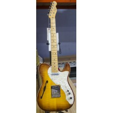 Fender USA Select Telecaster Thinline Violin Burst with Case B-Stock