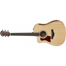 Taylor 210CE-DLX-LH Deluxe Left Handed Dreadnought Cutaway Acoustic Electri