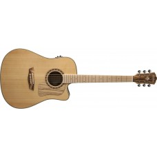 Washburn WCSD30SCEK Solid Top Acoustic Electric Guitar with Gig Bag