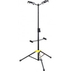 Hercules Hanging Auto Locking Deluxe Guitar Double Stand Black