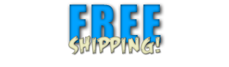 Free shipping by FedEx Ground for orders over $100